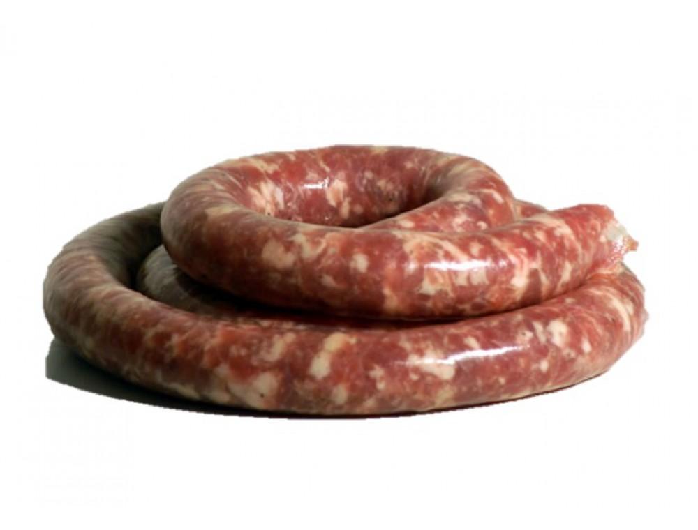 Saucisse fraîche de porc 500 grammes